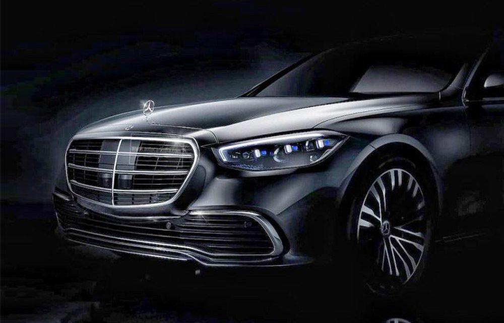 Mercedes-Benz zverejnil fotografiu novej triedy S.