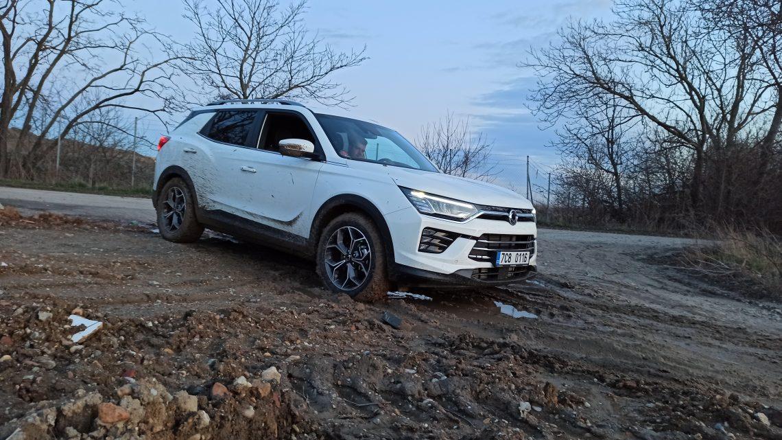Off-road test SsangYong Korando 1,6 e-XDi AWD.