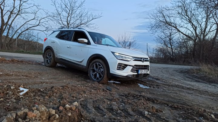 Off-road test SsangYong Korando 1,6 e-XDi AWD.