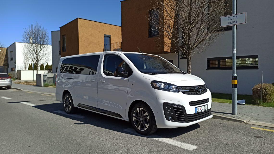 Test Opel Zafira Life   pohodlný a priestranný Nemec  