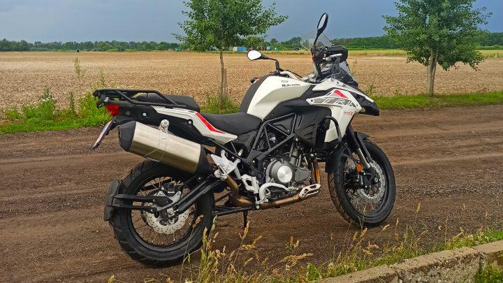 Test Benelli TRK 502X Adventure