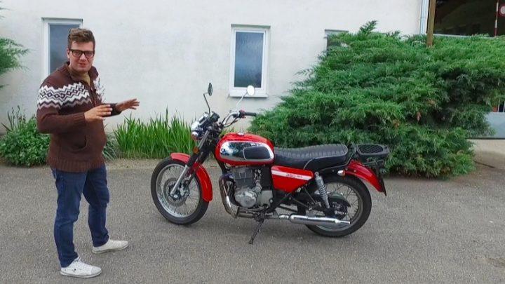 Test Jawa 350 OHC. Retro motorka srdcom i dušou.