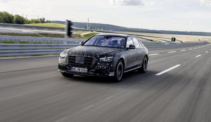Mercedes-Benz triedy S W223 dostane brutálne technológie.