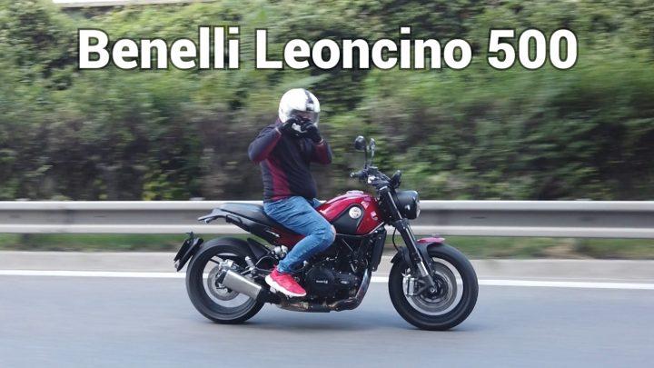 Test Benelli Leoncino 500.