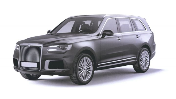 Toto je ruské luxusné SUV Aurus Komendant. Pozri sa na auto bez kamufláže.