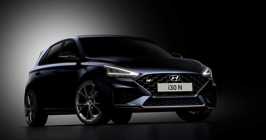 Aktualizovaný Hyundai i30 N dostáva novší dizajn a automatickú prevodovku N DCT.