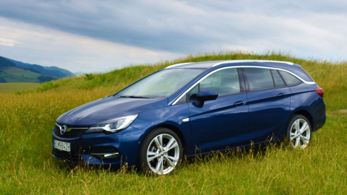 Test: Opel Astra ST 1,5 CDTI Elegance
