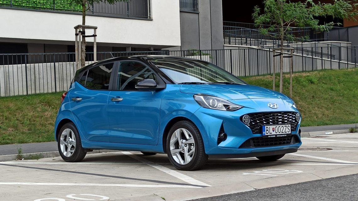 Test Hyundai i10 1,2 Style   Malé, mestské, použiteľné aj na ryby