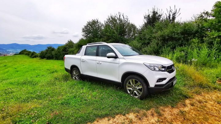 Off-road test Ssangyong Musso Grand