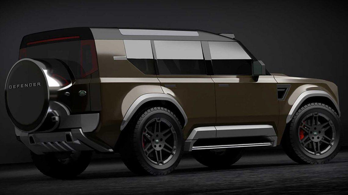 Malý Land Rover Defender dostane trojvalec a pohon predných kolies.