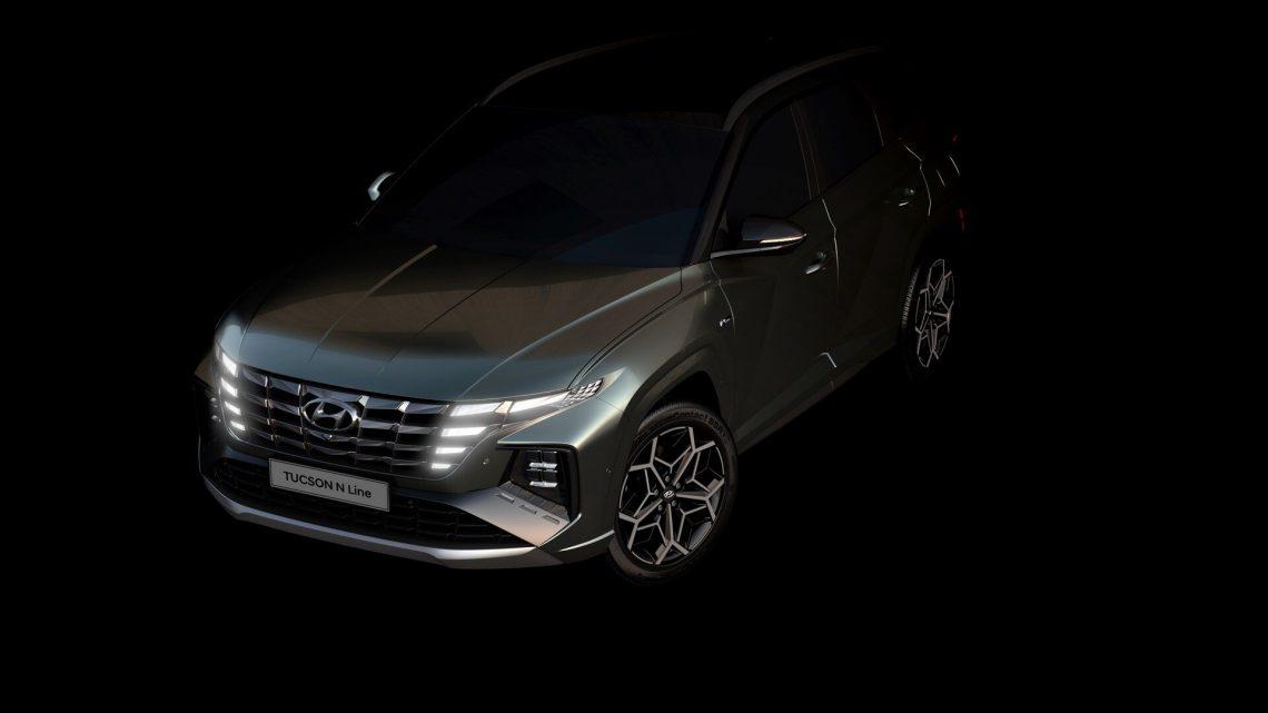 Hyundai odhalil prvé fotografie Tucson N-Line.