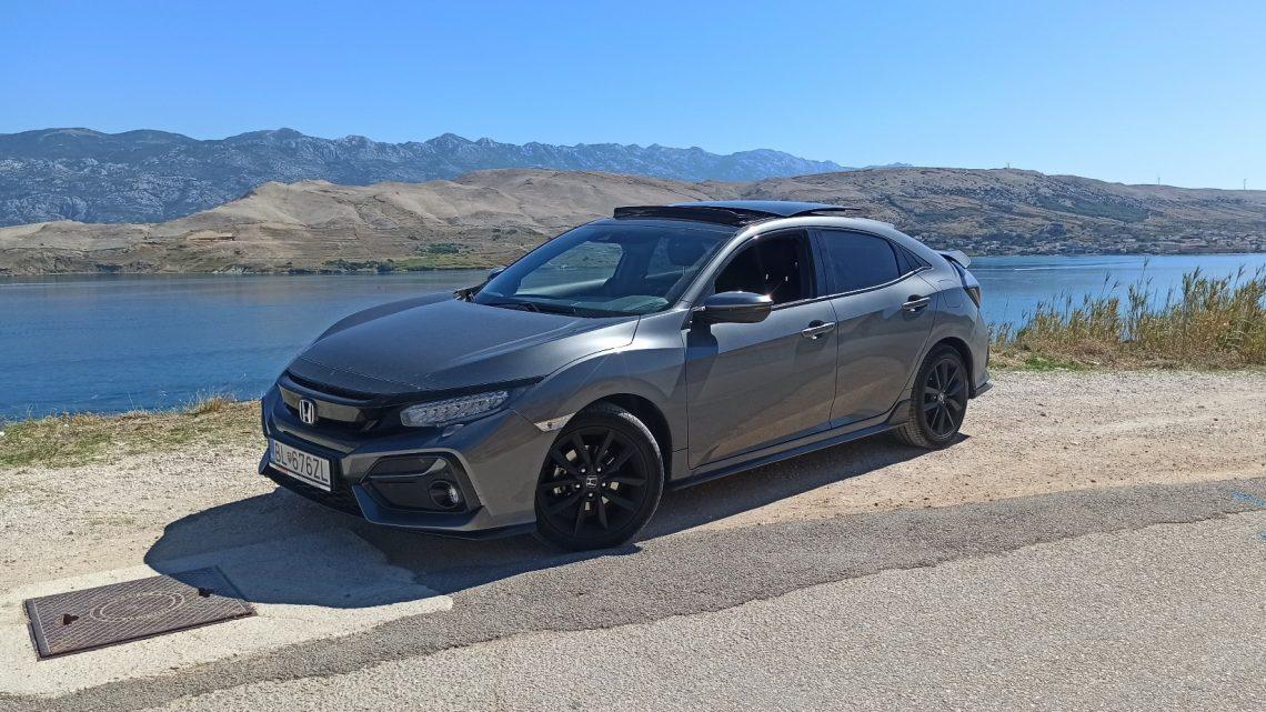 Honda Civic 1,0 VTEC Turbo Sport Line   Je to najlepší litrový trojvalec?