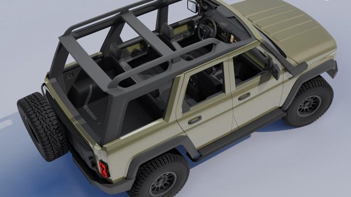 Takto by mohol vyzerať nový UAZ Hunter.