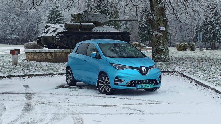 Ako zvládol Renault Zoe cestu na východ a späť?