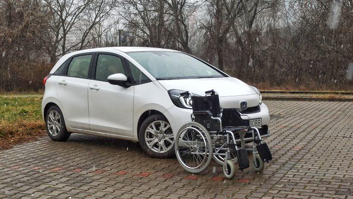 Zmestí sa do Hondy Jazz invalidný vozík? | Test |