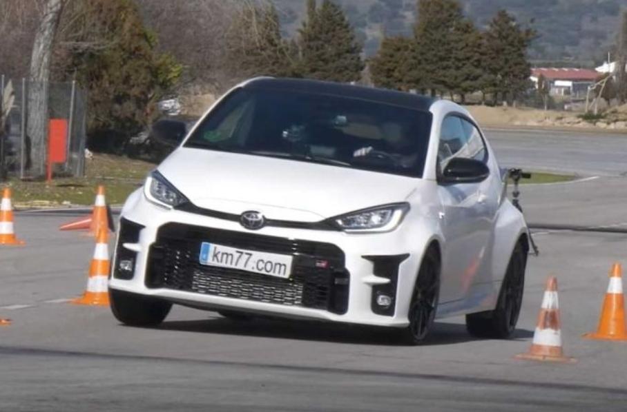 Toyota Yaris GR prešla losím testom. Aká je maximálna rýchlosť v teste?