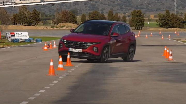 Hyundai Tucson v losom teste. Akú rýchlosť zvládol Tucson?