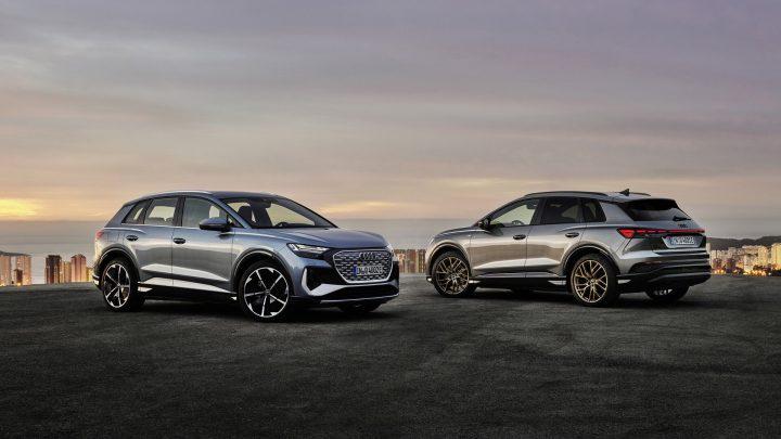 Audi predstavilo dve elektrické vozidlá. Q4 E-Tron a Q4 Sportback E-Tron.