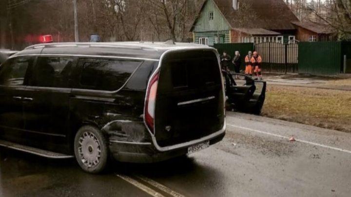 Mikrobus Aurus Arsenal sa zúčastnil dopravnej nehody.