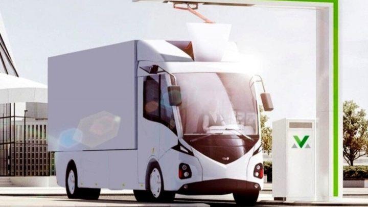 V Bielorusku budú vyrábať elektrické nákladné vozidlo.