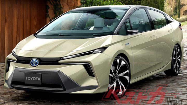 Takto môže vyzerať nová Toyota Prius. Čo ponúkne?