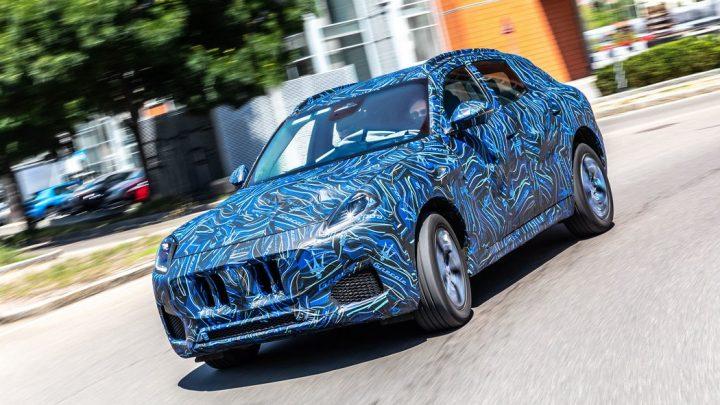 Nové Maserati Grecale má byť predstavené už v novembri.