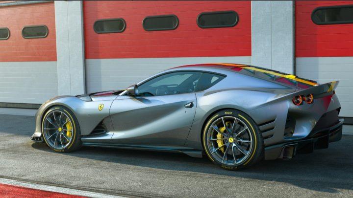 Ferrari 812 Competizione dostalo vysokootáčkový dvanásťvalec s brutálnym výkonom.