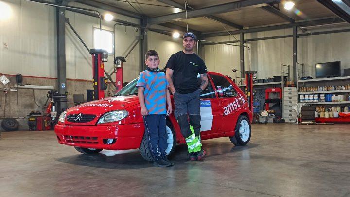 Ako pokročil Sebastian Greisiger so svojim rally autom?
