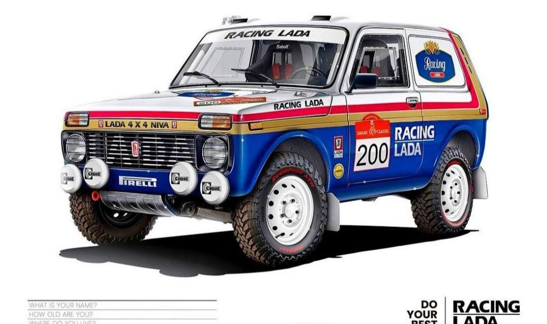 Lada Niva sa vracia na rally Dakar. Šoférovať bude švajčiarska posádka.