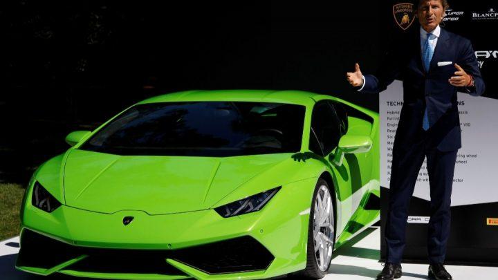 Po vozidlách Lamborghini je veľký dopyt.