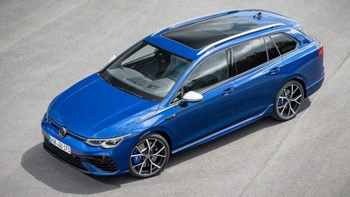 Nový Volkswagen Golf R Variant je výkonný, praktický a ťahať môže príves až do 1,9 tony.