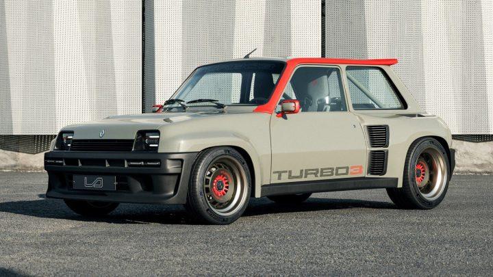 Tento Renault 5 Turbo 3 má brutálny výkon 400 koní a pohon zadných kolies.
