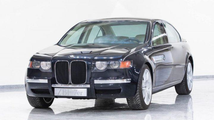 Toto BMW radu 7 z roku 1996 bolo svetu odhalené až teraz.