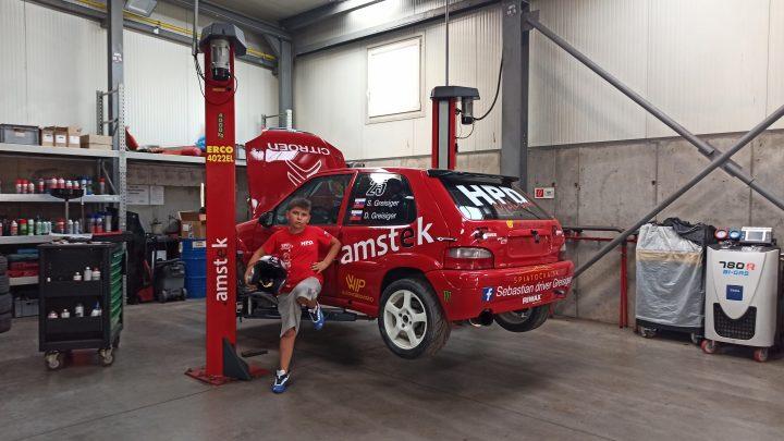 Sebastian Greisiger si zajtra zmeria sily s profesionálnymi rally jazdcami na MRC Kopřivnice.