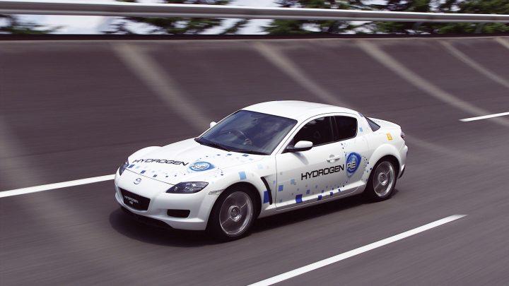 Motor Wankel od Mazdy bude možno spaľovať vodík.
