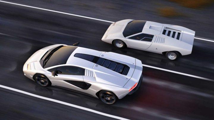 Toto je Lamborghini Countach druhej generácie. Vyrobených bude len 112 kusov.
