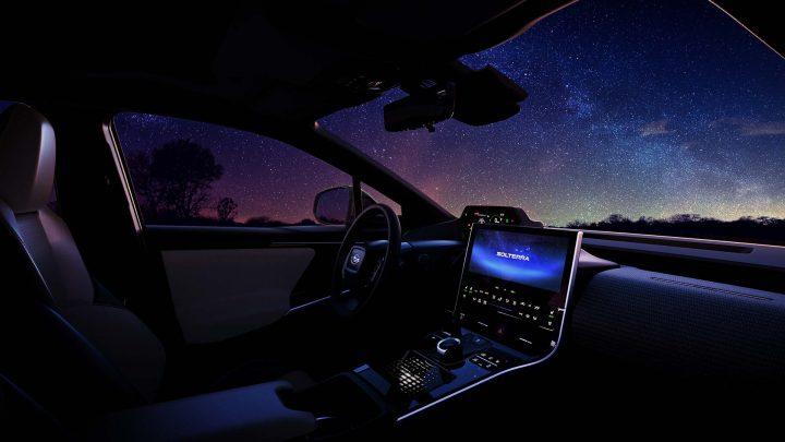 Toto je nové elektrické Subaru Solterra.