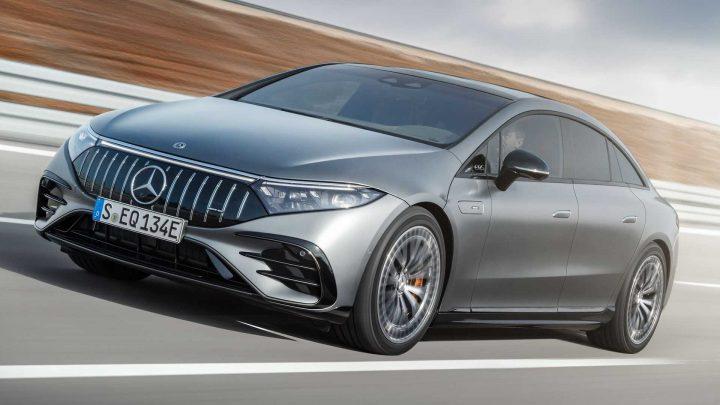 Mercedes-AMG EQS 53 4Matic+ je prvé elektrické AMG. Dizajnom však nezaujme.