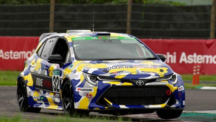 Toyota Corolla Sport spaľujúca vodík sa zúčastnila na 24-hodinových pretekoch.
