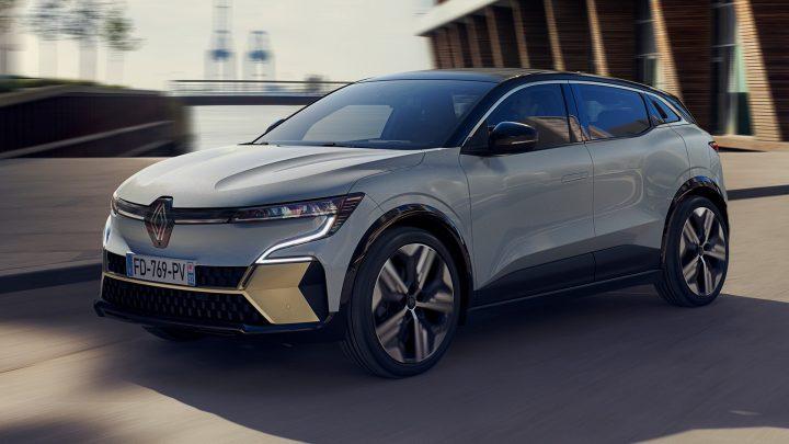 Toto je nový elektrický Renault Megane E-Tech Electric.