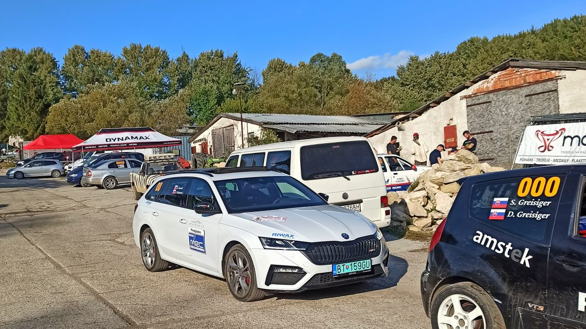 Zúčastnili sme sa rally MRC Liptovské Sliače ako predjazdci. Ako sa jazdilo?