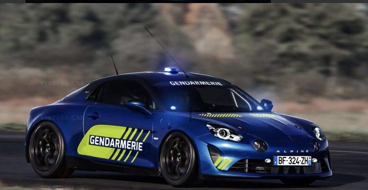 Francúzska polícia bude používať vozidlá Alpine A110.