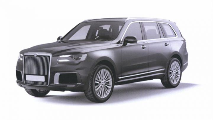 Luxusné SUV Aurus Komendant dostane elektrický a vodíkový pohon.
