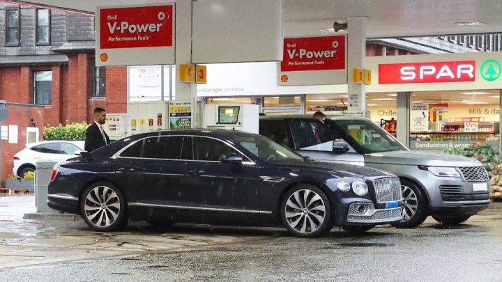 Britská palivová kríza zasiahla aj vozidlá Christiana Ronalda.